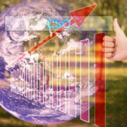 52728782 - touching cso or chief strategy officer,chief security officer,chief sourcing officer on virtual screen vintage tone , image element furnished by nasa